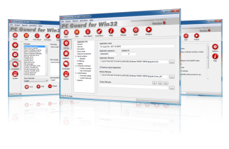 PC Guard Software Protection System Screen shot